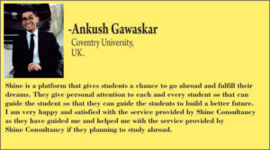 Testimonial_ Shine Consultancy_ Study abroad _ Overseas education