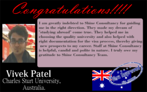 Student testimonial_ Shine Consultancy- Study abroad_coaching _ test preparation_ielts_ gre_ gmat _ sat_toefl_overseas education